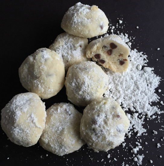 Chocolate Chip Snowball Cookies Recipe How To Cook